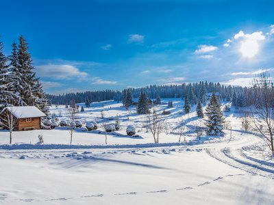 EA Mountain hotel Hajenka*** - hotel surroundings - Filipova Hut in winter