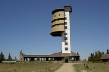 EA Mountain hotel Hajenka*** - hotel surroundings - Polednik, lookout tower