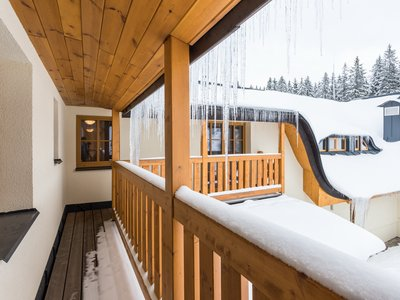 EA Mountain hotel Hajenka*** - shared balcony in the rooms